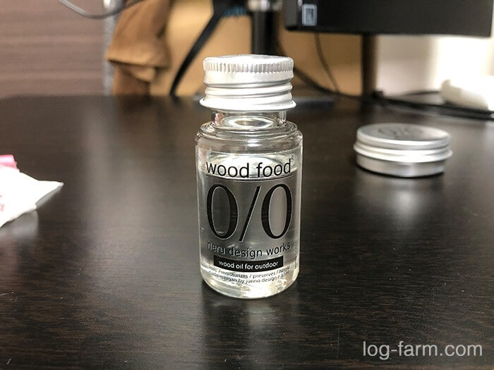 ネルデザインワークスのwood oil for outdoor30