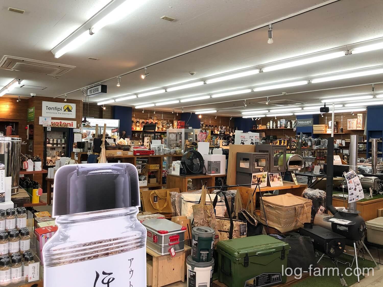 和歌山のOrange本店店内
