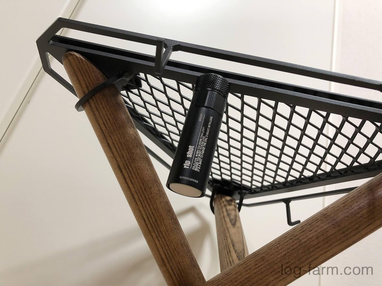 焚き火Side Stand(SomAbito)とrip shot