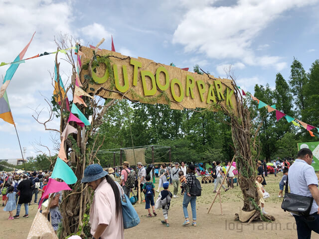 OUTDOOR PARKの入場ゲート