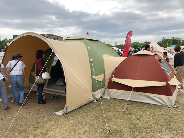 KARSTEN TENTの超高級テント