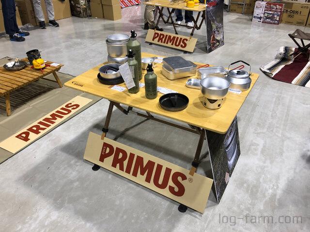 PRIMUSの展示ブース