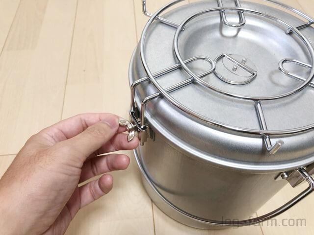火消し壺の使い方手順3
