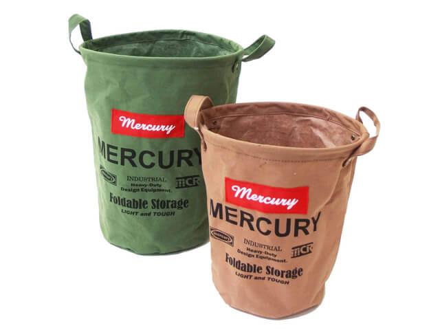 Mercury キャンバスバケツのカラーバリエーション