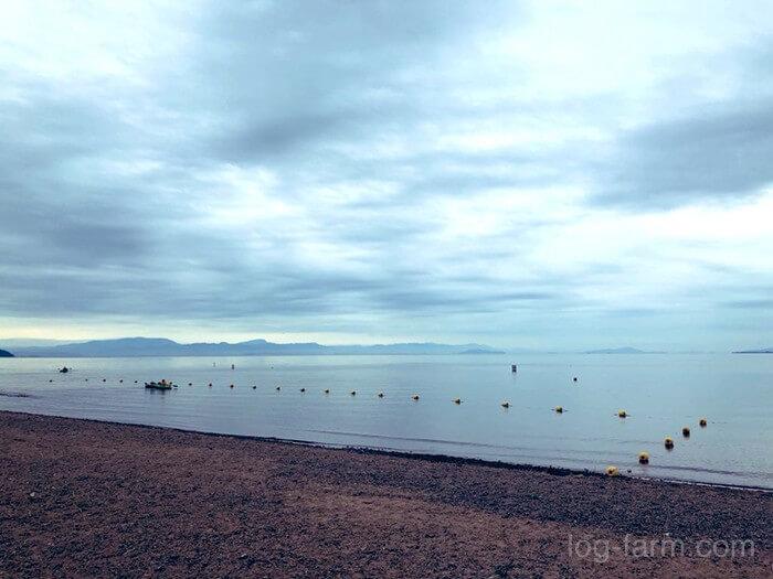 【2020夏】知内浜オートキャンプ場に出撃!琵琶湖の開放感が抜群のキャンプ場