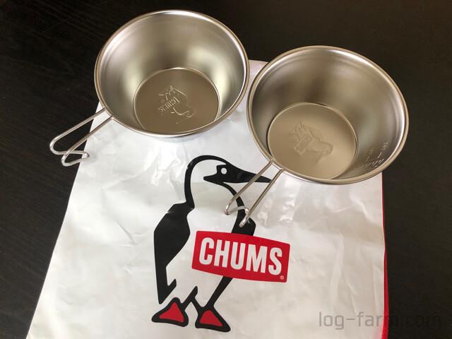 CHUMSのシェラカップ