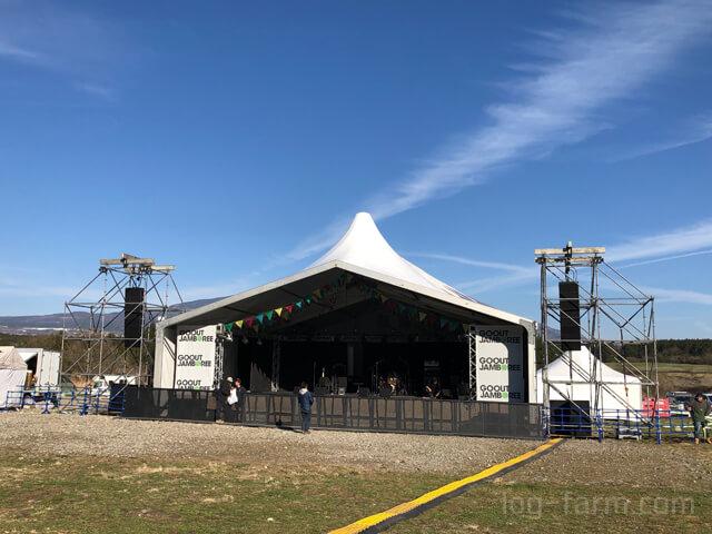 GO OUT JAMBOREE 2019のライブ会場