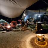 朽木オートキャンプ場とペトロマックス