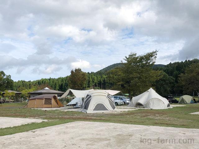 朽木オートキャンプ場でグループキャンプ