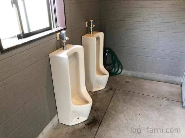 おしっこ用トイレ