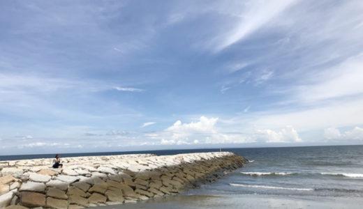 【2018夏】大淀西海岸ムーンビーチキャンプ場に出撃~海とプールが同時に楽しめる!
