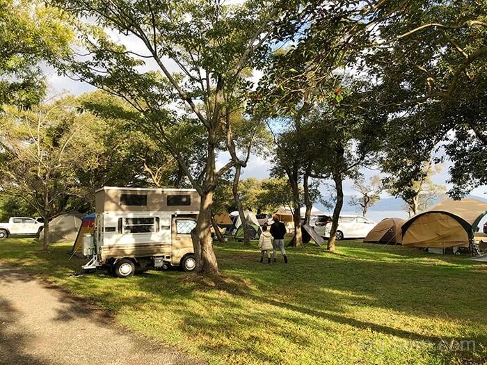 六ツ矢崎浜オートキャンプ場の一般サイト