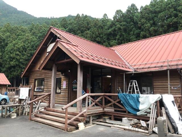 白川渡オートキャンプ場の管理棟