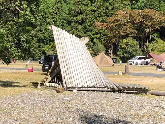 白川渡オートキャンプ場の遊具