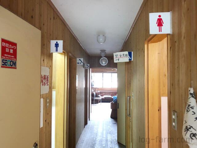 白川渡オートキャンプ場のシャワールーム