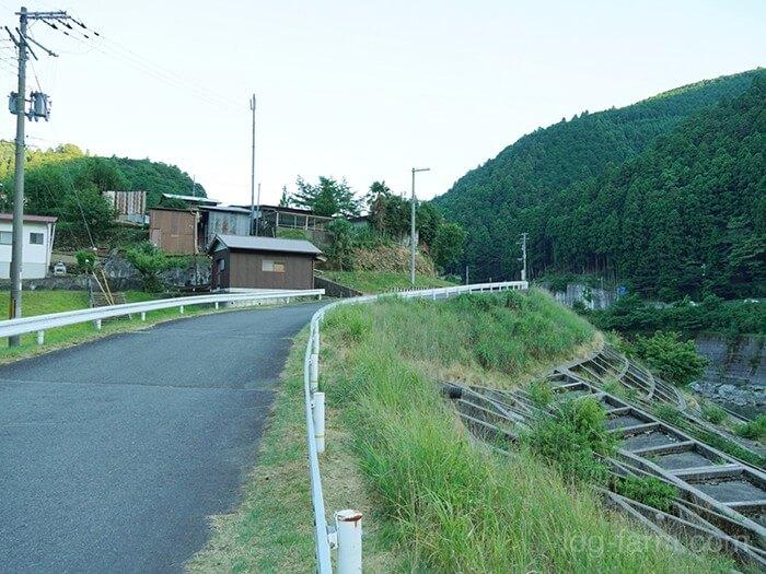 吉野川へのショートカットルート
