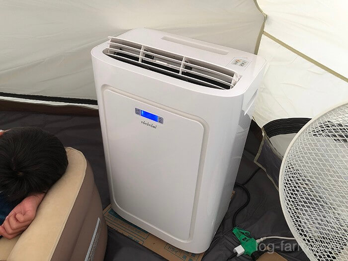 冷暖房スポットエアコン(トヨトミ)