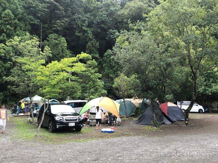 谷瀬つり橋オートキャンプ場の予約サイト