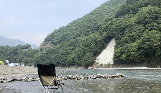 【2020夏】つり橋の里キャンプ場で初ファミキャン【自然の雄大さが神レベル】