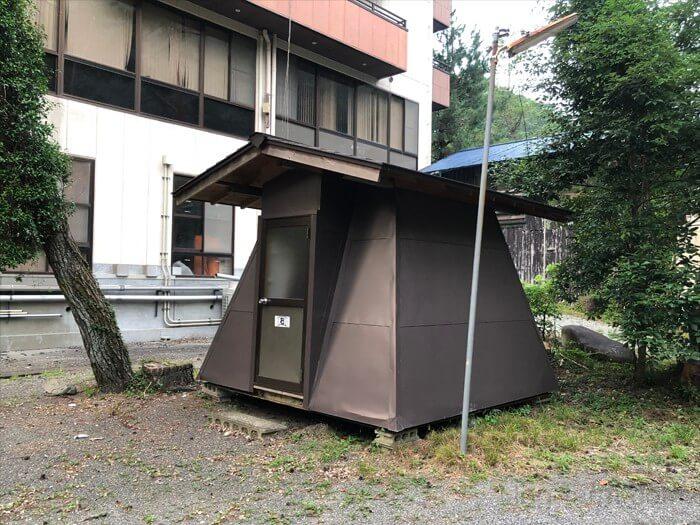 つり橋の里キャンプ場のバンガロー(6人用)