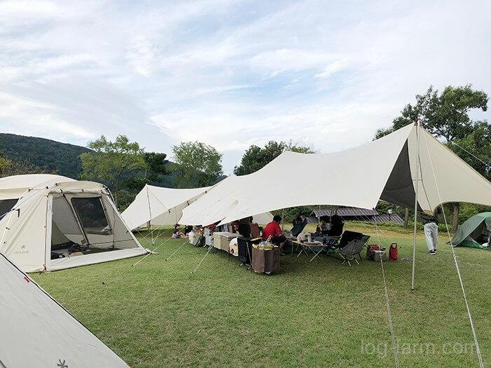 ビラデスト今津でキャンプ