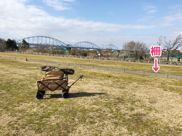 淀川河川公園(赤川地区)