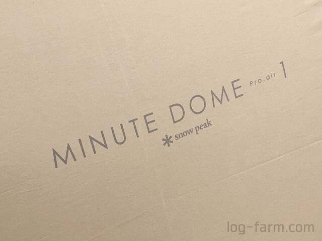 MINUTE DOME Pro.air1のロゴ