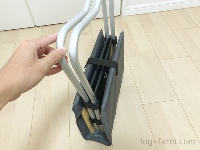 MyテーブルハウスをMyテーブル竹に付けたままカバーも可能