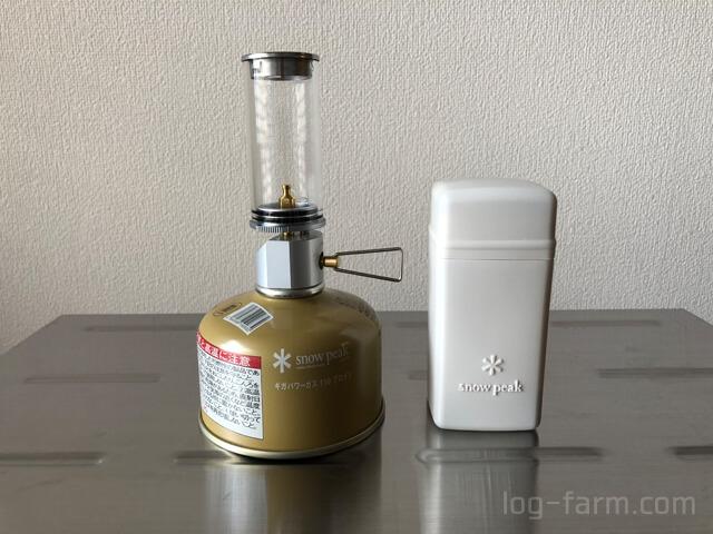 ギガパワーガスをリトルランプノクターンに接続