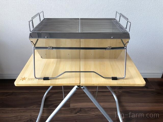 Myテーブル竹とユニセラTG-Ⅲ
