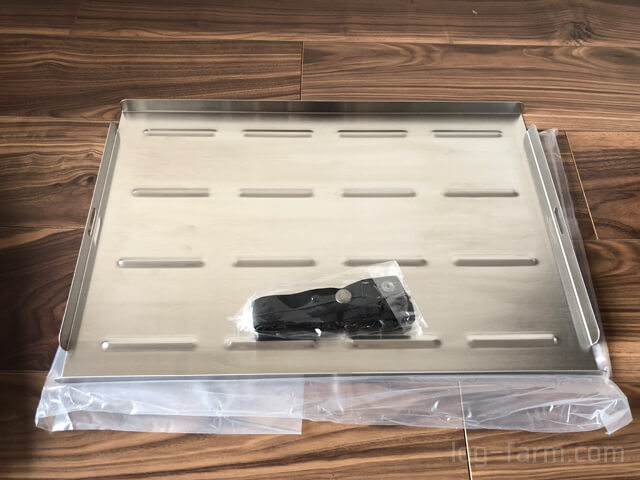 Myテーブル ステンレストップと固定用ベルト