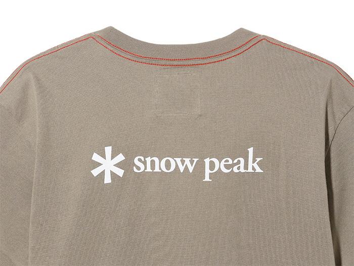 SP Tent Color Tshirtのバックロゴ