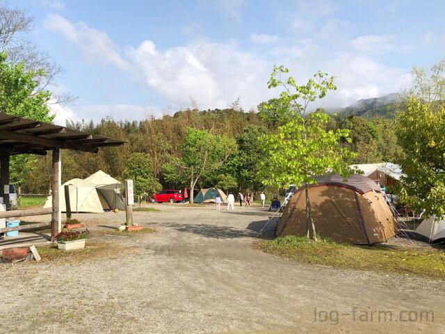 OKオートキャンプ場でのキャンプ