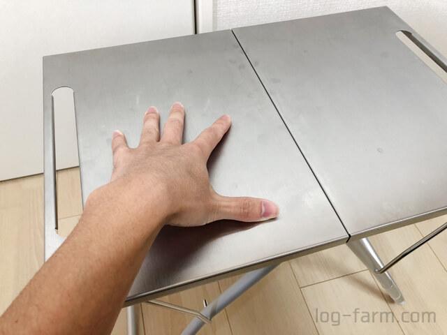 頑丈なTAKIBI Myテーブル