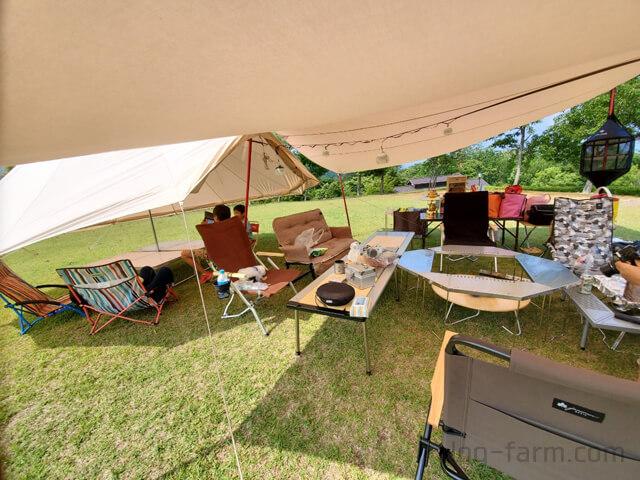キャンプのIGTテーブルやジカロテーブル