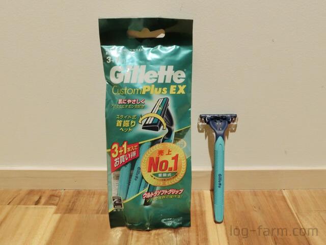 Gillette ジレット カスタムプラスEX本体