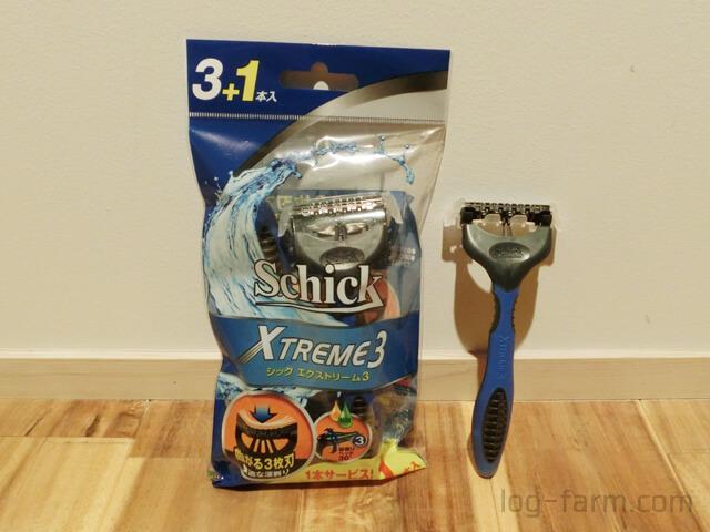Schick Xtreme3 シック エクストリーム3本体