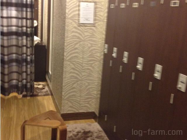 ダンディハウスの更衣室