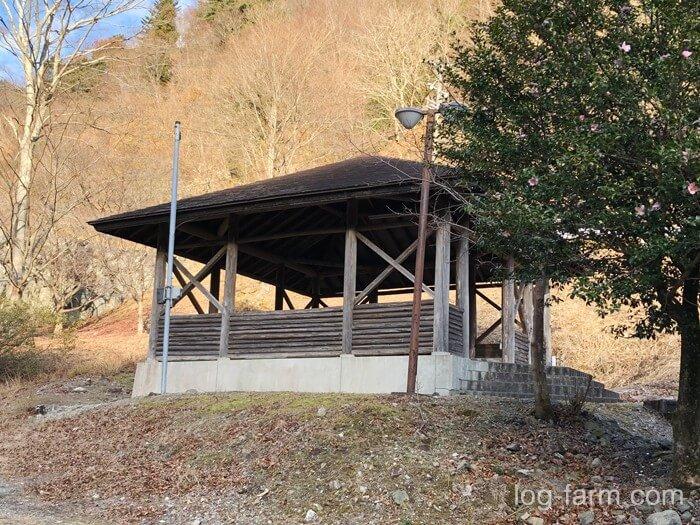 屋根付きスペース