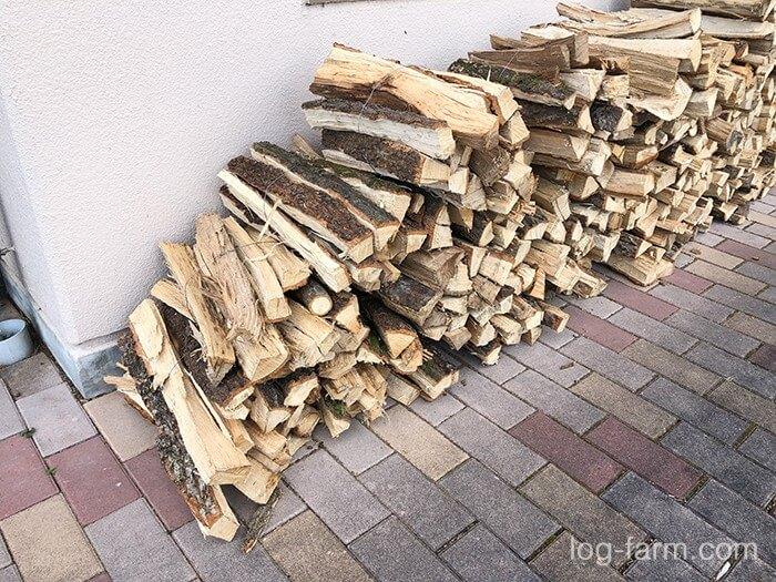 カントリーパーク大川で売られている薪