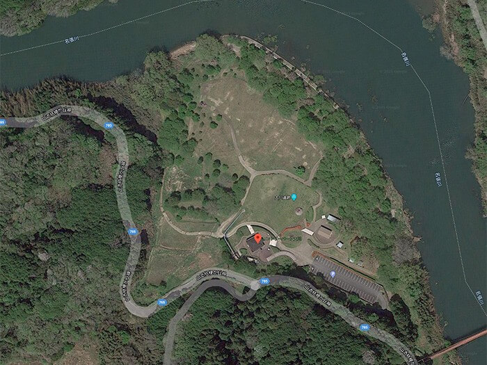 【航空写真】カントリーパーク大川