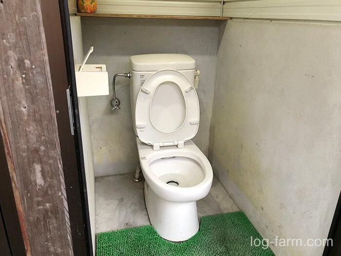 黄和田キャンプ場の洋式トイレ2
