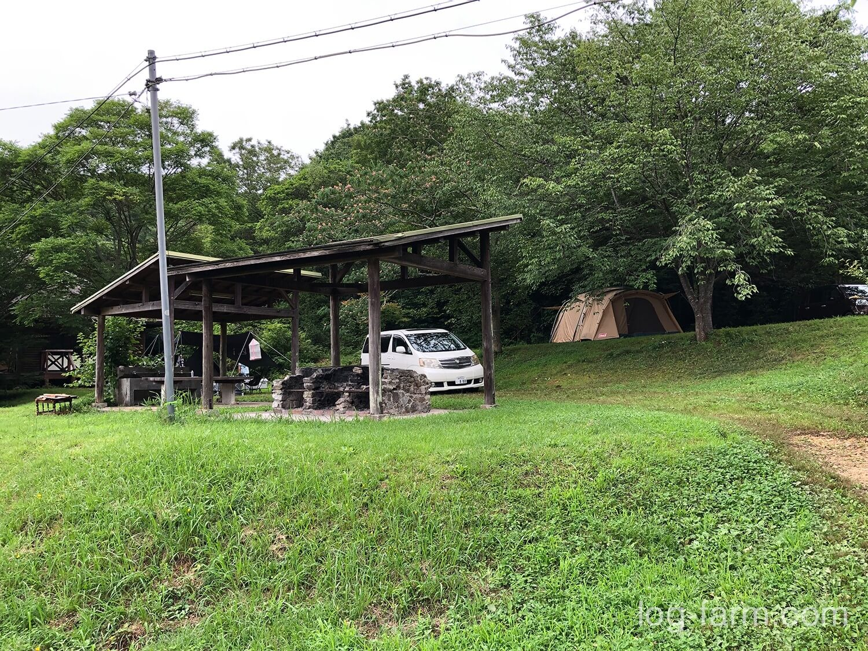 牧野キャンプ場のフリーサイト