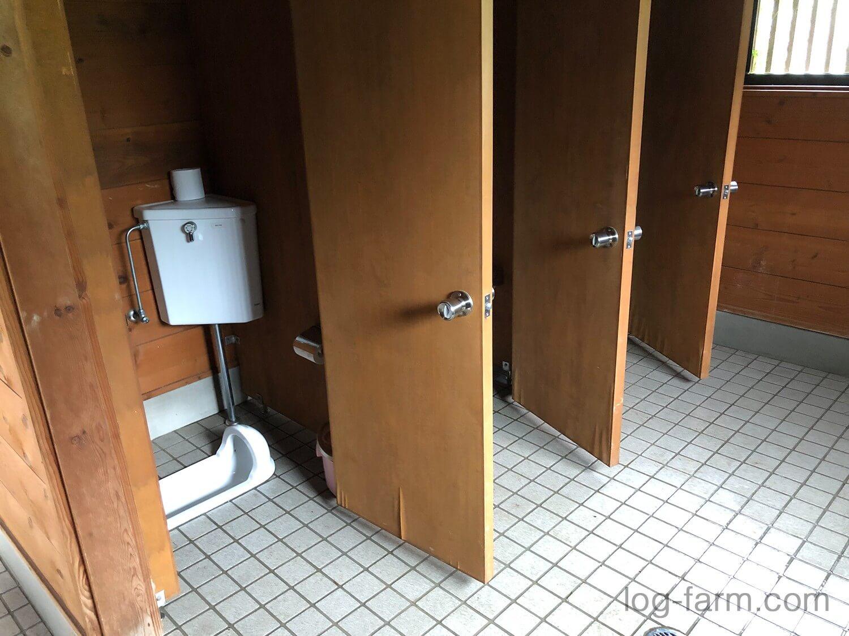 牧野キャンプ場のトイレ