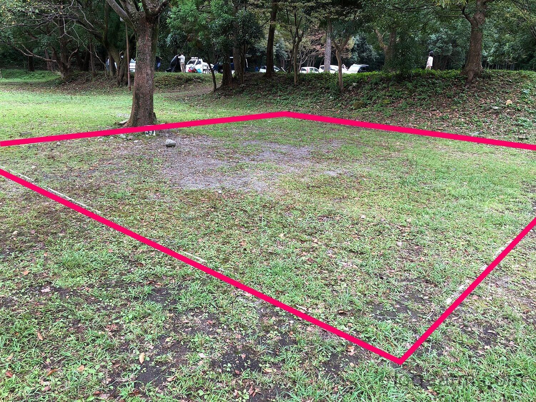 1区画が狭い(約7×7.5m)