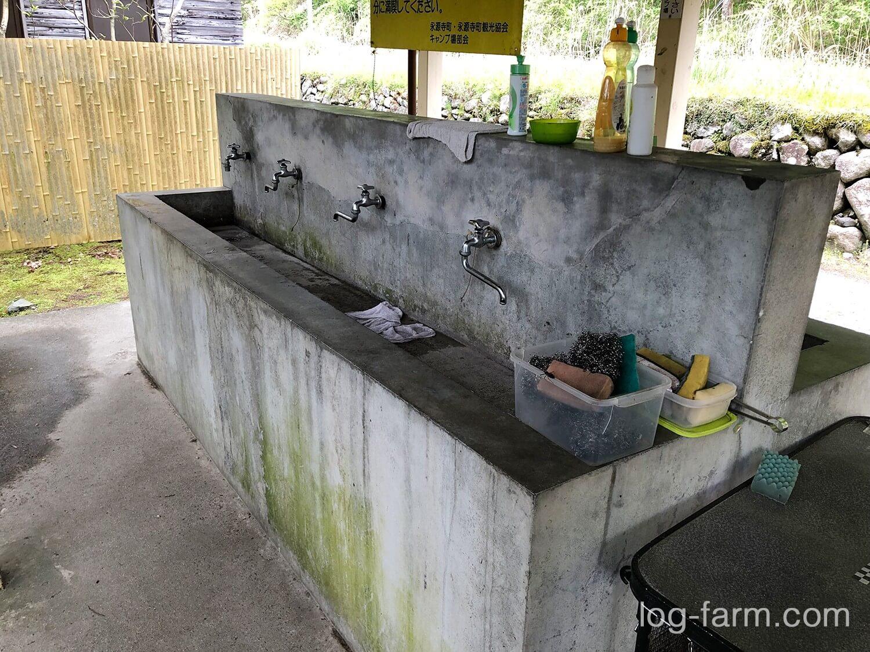 炊事場の水栓