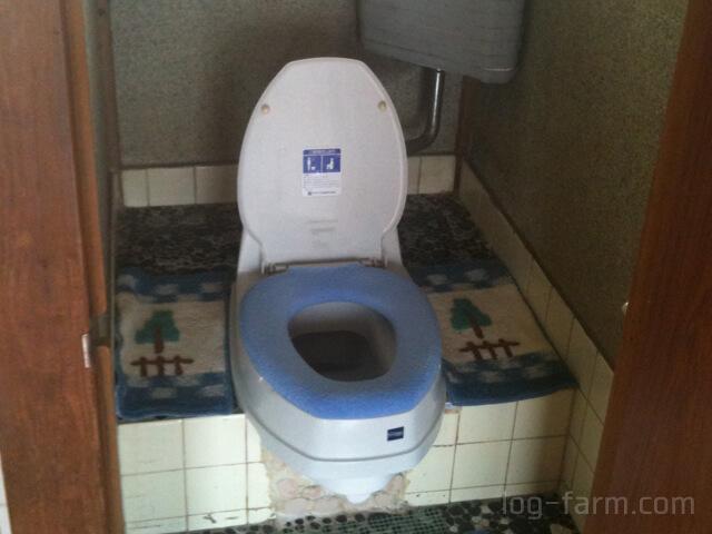 和式トイレ+洋式便座