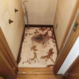 2号不動産のトイレ除去後