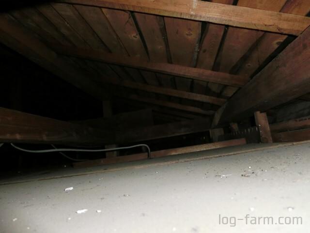 戸建の天井裏