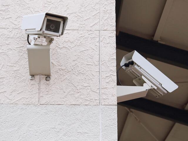 賃貸マンションの防犯カメラ